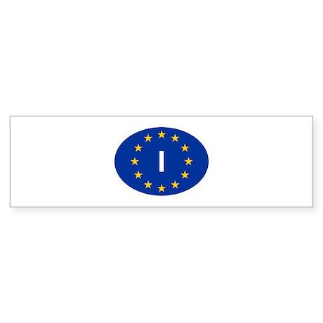 EU Italy Sticker (Bumper)