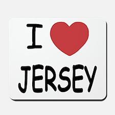 I heart Jersey Mousepad