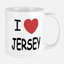 I heart Jersey Mug