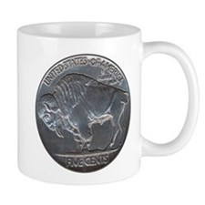 The Buffalo Nickel Mug