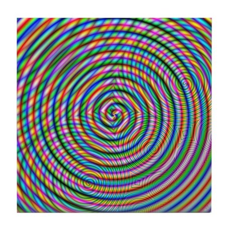 HiGhLy PsYchEdelIc Tile Coaster