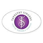 Tapestry Singers Sticker (Oval 10 pk)