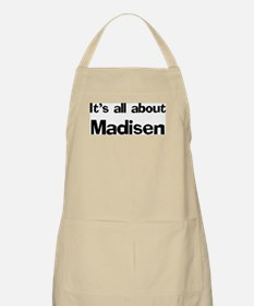 It's all about Madisen BBQ Apron
