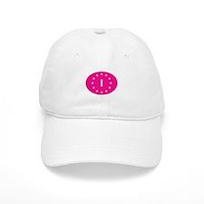 EU Pink Italy Baseball Cap
