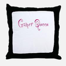 Gamer Queen Throw Pillow