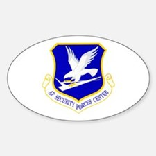 Security Forces Center Oval Decal