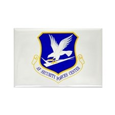 Security Forces Center Rectangle Magnet (100 pack)