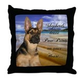 German shepherds Throw Pillows