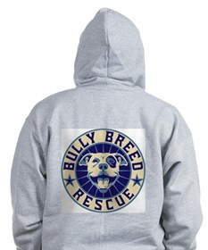 Bully Breed Rescue Zip Hoodie