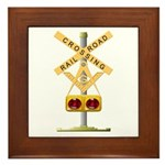 Railroad Brother Framed Tile
