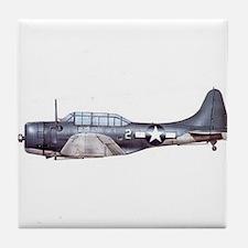 Douglas Dauntless Tile Coaster