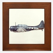 Douglas Dauntless Framed Tile