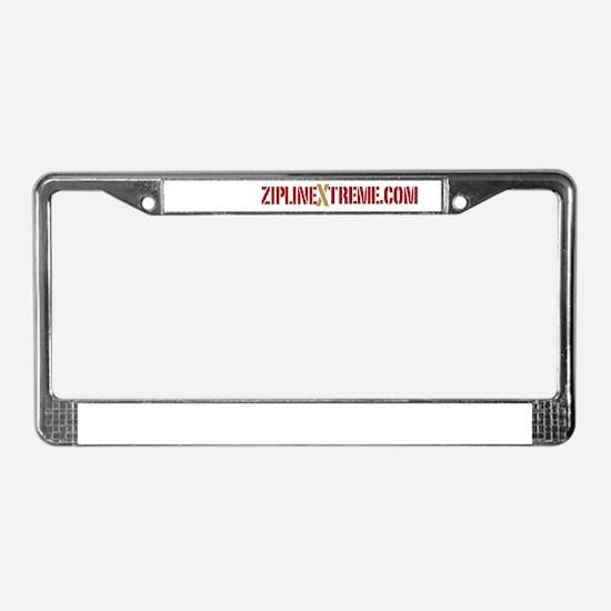 ziplineXtreme.com License Plate Frame