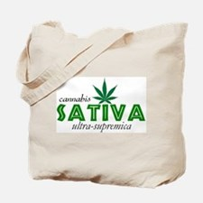 CANNABIS INDICA Tote Bag