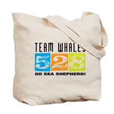 Team Whales Tote Bag