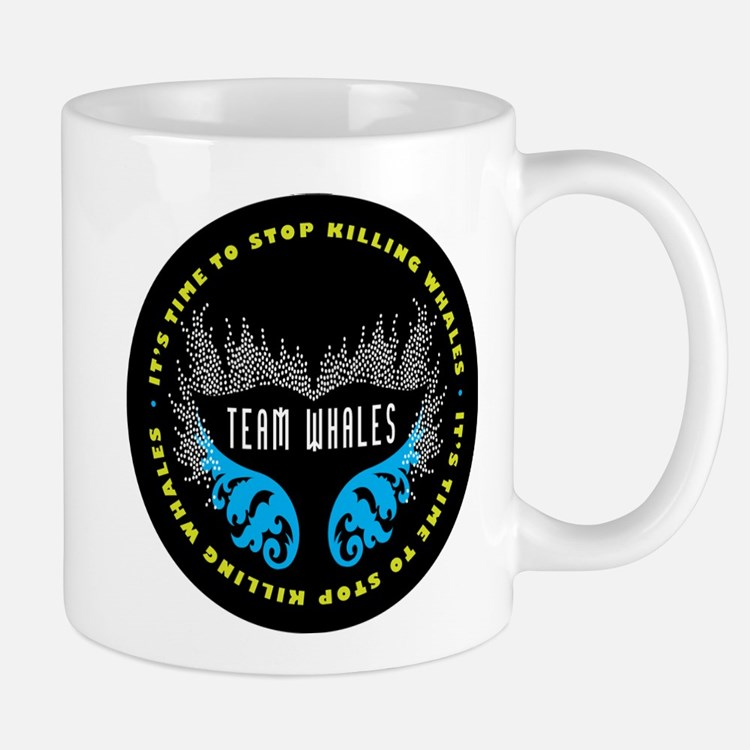 Team Whales Mug Mugs