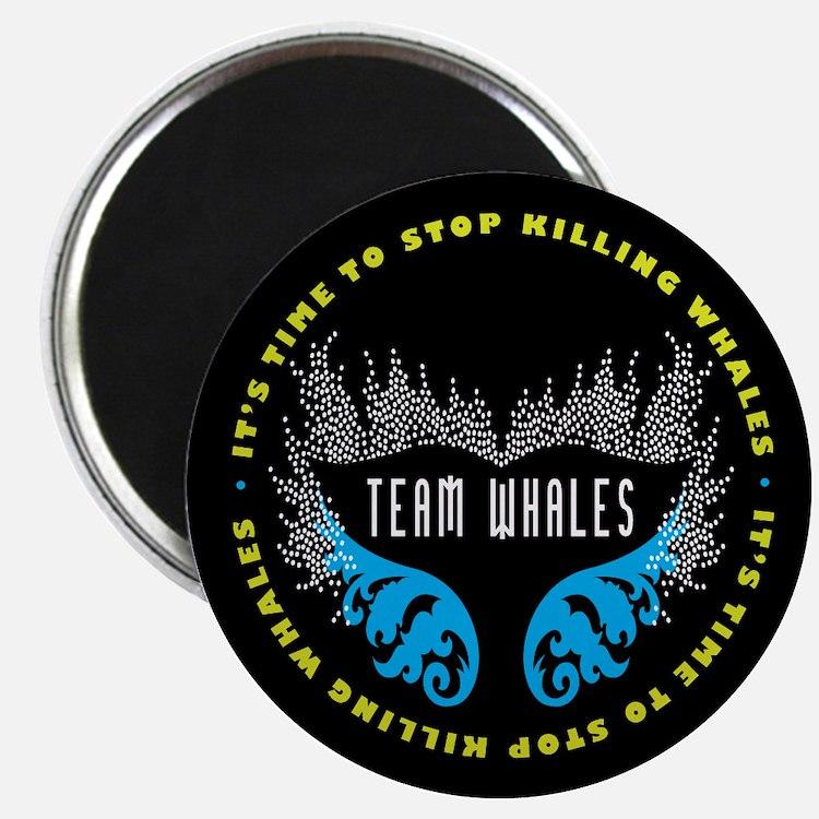 Team Whales Magnet