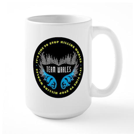 Team Whales Large Mug