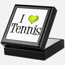 I Heart Tennis Keepsake Box