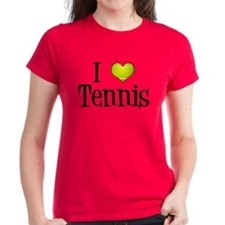 I Heart Tennis Tee