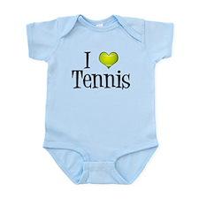 I Heart Tennis Infant Bodysuit