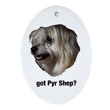 got Pyr Shep? Ornament (Oval)