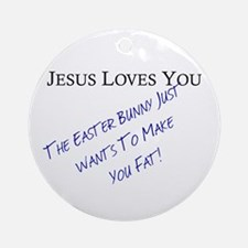 Jesus Loves You... Ornament (Round)