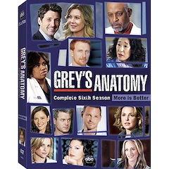 Grey's Anatomy: The Complete Sixth Season Dvd