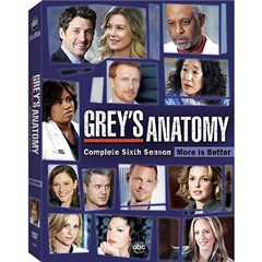 Grey's Anatomy: The Complete Sixth Season Dvd