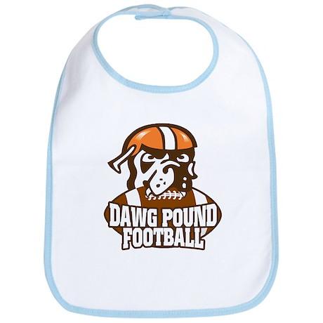 Dawg Pound Fans Bib