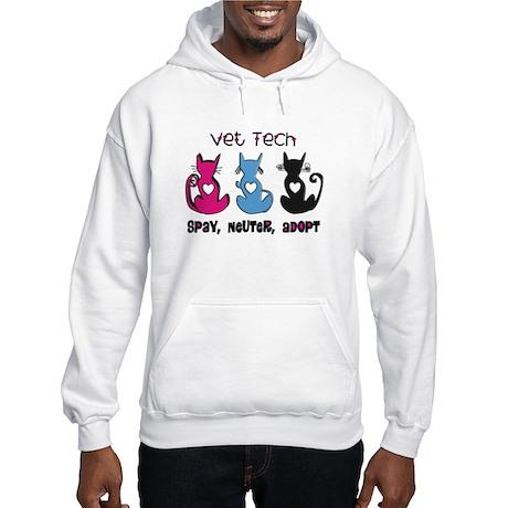 Vet Technician Hooded Sweatshirt