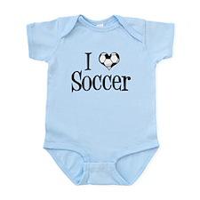 I Heart Soccer Infant Bodysuit