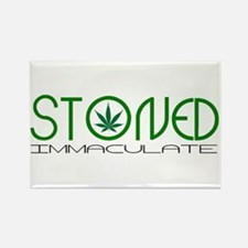 STONED IMMACULATE Rectangle Magnet