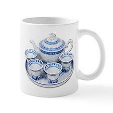 Blue China Teapot Mug