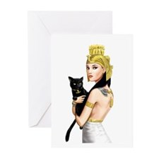 Cleopatra Greeting Cards (Pk of 10)