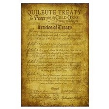 Twilight Cullen Treaty Large Poster