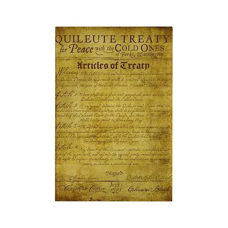 Twilight Cullen Treaty Rectangle Magnet (100 pack)
