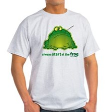 Funny Orchestra Strings Frog T-Shirt