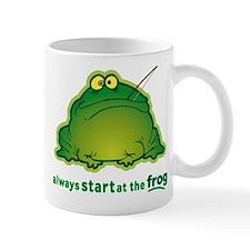Funny Orchestra Strings Frog Mug