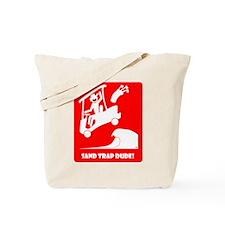 SAND TRAP DUDE-56 Tote Bag