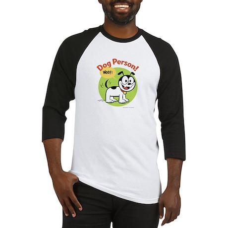 Dog Person Baseball Jersey