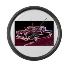 Cool Chevy 1955 Large Wall Clock