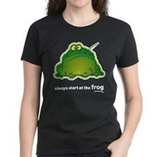 Funny Orchestra Strings Frog Tee