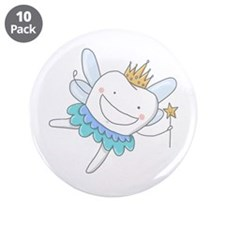 """Tooth Fairy - 3.5"""" Button (10 pack)"""