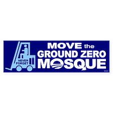 Move Ground Zero Mosque Bumper Sticker