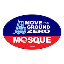 Move Ground Zero Mosque Decal