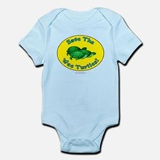 Save the Wee Turtles... Infant Bodysuit
