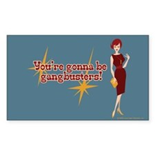 Mad Men Gangbusters Decal
