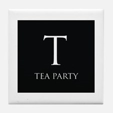 Tea Party Tile Coaster