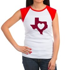 heart_maroon T-Shirt